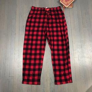 NWT Macy's Family PJs Buffalo Check Pajama Pants